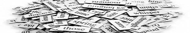 As 100 palavras mais usadas no Oxford English Dictionary